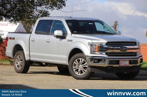 Pre-Owned 2018 Ford F-150 Lariat 4WD 4D SuperCrew