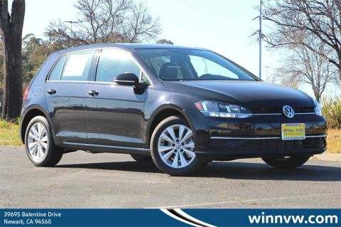 New 2020 Volkswagen Golf 1.4T TSI FWD 4D Hatchback