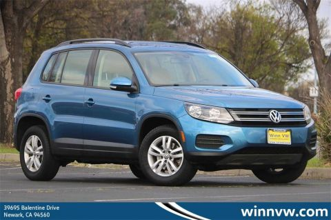 Pre-Owned 2017 Volkswagen Tiguan 2.0T S AWD 4D Sport Utility